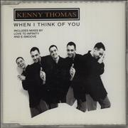 Click here for more info about 'Kenny Thomas - When I Think Of You'