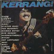 Click here for more info about 'Kerrang! Magazine - Kerrang! Magazine - Jan 83'