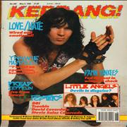 Click here for more info about 'Kerrang! Magazine - Kerrang! Magazine - May 90'