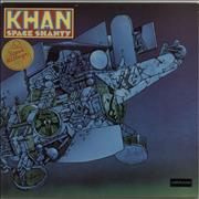 Click here for more info about 'Khan - Space Shanty - 1st - stickered p/s'