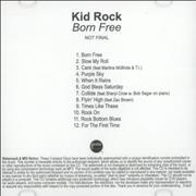 Click here for more info about 'Kid Rock - Born Free'