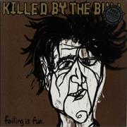 Click here for more info about 'Killed By The Bull - Failing Is Fun - Mustard vinyl'