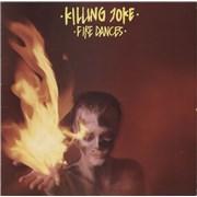 Killing Joke Fire Dances - EX UK vinyl LP