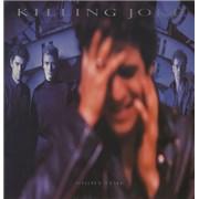 Killing Joke Night Time + lyric inner UK vinyl LP