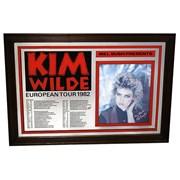Click here for more info about 'Kim Wilde - 1982 European Tour Commemorative Mirror'