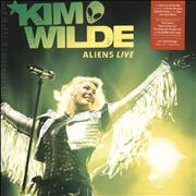 Click here for more info about 'Kim Wilde - Aliens Live - Neon Orange Vinyl - Sealed'