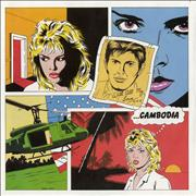 Click here for more info about 'Kim Wilde - Cambodia - 4pr'