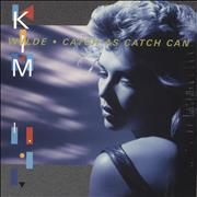Click here for more info about 'Kim Wilde - Catch As Catch Can - Blue Vinyl - Sealed'