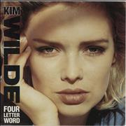 Click here for more info about 'Kim Wilde - Four Letter Word - Solid'