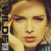 Click here for more info about 'Kim Wilde - Four Letter Word'