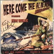 Click here for more info about 'Kim Wilde - Here Come The Aliens - Red Vinyl + Autographed'