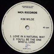 Click here for more info about 'Kim Wilde - Love In The Natural Way'