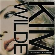 """Kim Wilde Never Trust A Stranger UK 12"""" vinyl"""