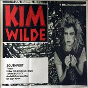 Click here for more info about 'Kim Wilde - Southport Theatre 1982'