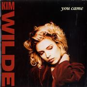 Click here for more info about 'Kim Wilde - You Came - Paper label'
