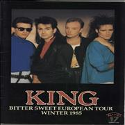 Click here for more info about 'King - Bitter Sweet European Tour Winter 1985'