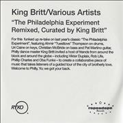 Click here for more info about 'King Britt - The Philadelphia Experiment Remixed'