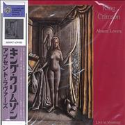 King Crimson Absent Lovers: Live In Montreal 1984 Japan 2-CD album set Promo