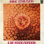 "King Crimson Cat Food / Groon France 7"" vinyl"