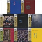 King Crimson Collection Of Eight Card Sleeve Issues - 1981 To 2003 Japan CD album