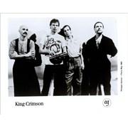 King Crimson Discipline USA press pack