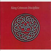 King Crimson Discipline Japan 2-disc CD/DVD set
