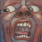 Click here for more info about 'King Crimson - In The Court Of - 2nd - Palm Tree - VG'