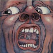 Click here for more info about 'King Crimson - In The Court Of - 2nd - Palm Tree - EX'