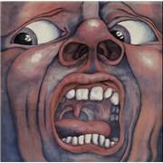 King Crimson In The Court Of - 2nd - Palm Tree - EX UK vinyl LP