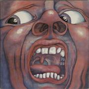 King Crimson In The Court Of - A2/B2 - EX UK vinyl LP