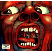 King Crimson In The Court Of The Crimson King USA vinyl LP Promo