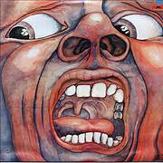 King Crimson In The Court Of The Crimson King Mexico vinyl LP
