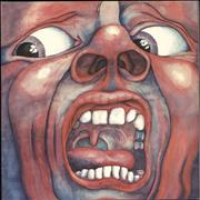 King Crimson In The Court Of The Crimson King UK vinyl LP
