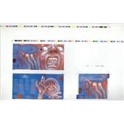 King Crimson In The Court Of The Crimson King UK artwork