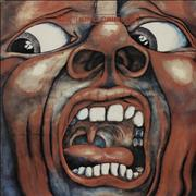 King Crimson In The Court Of The Crimson King Brazil vinyl LP