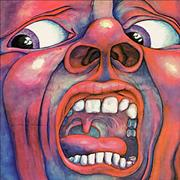 King Crimson In The Court Of The Crimson King - Palm Tree Label UK vinyl LP