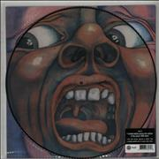 King Crimson In The Court Of The Crimson King UK picture disc LP