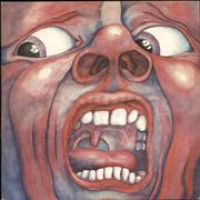 King Crimson In The Court Of The Crimson King - EX UK vinyl LP