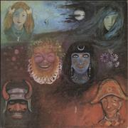 King Crimson In The Wake Of Poseidon - 1st UK vinyl LP