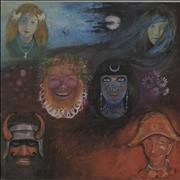 King Crimson In The Wake Of Poseidon - 3rd UK vinyl LP