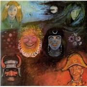 King Crimson In The Wake Of Poseidon Japan CD album