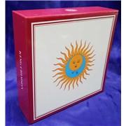 King Crimson Larks' Tongues In Aspic / Starless And Bible Black / Red / USA Japan cd album box set