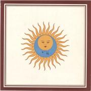 King Crimson Larks' Tongues In Aspic - VG + inner UK vinyl LP
