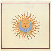 King Crimson Lark's Tongues In Aspic USA vinyl LP