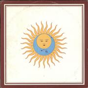 King Crimson Larks Tongues In Aspic Italy vinyl LP