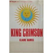 King Crimson Lark's Tongues Tour UK poster