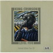King Crimson Level Five - Limited Edition Tour CD UK CD album