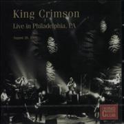 King Crimson Live In Philadelphia, PA - August 26, 1996 UK 2-CD album set