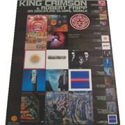 King Crimson On Discipline Global Mobile Japan poster Promo