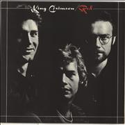 King Crimson Red - 1st UK vinyl LP